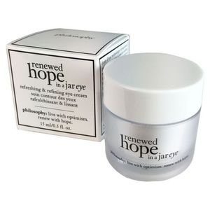 PHILOSOPHY Renewed Hope Eye Cream 0.5oz/15ml NEW